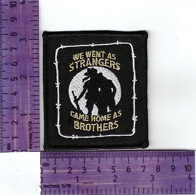 Aussie Diggers  Bikers Embroidered Vest Or Jacket Badge / Cloth Patch