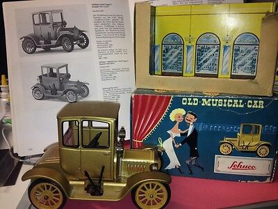 Blechspielzeug Schuco Old Musical Car 4014 Ford T  OVP Selten