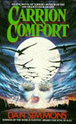Carrion Comfort by Simmons, Dan Paperback Book The Cheap Fast Free Post