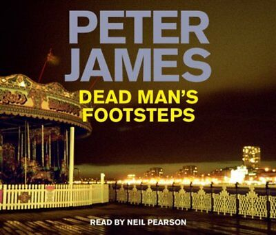 Dead Man's Footsteps by James, Peter CD-Audio Book The Cheap Fast Free Post