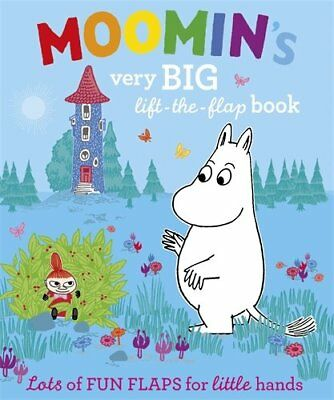 Moomin's Very Big lift-the-flap  Book, Puffin Book The Cheap Fast Free Post