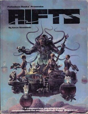 RIFTS Role Playing Game by Bartold, Thom Paperback Book The Cheap Fast Free Post