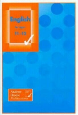English for Ages 11-12 by Scott, Tim Book The Cheap Fast Free Post