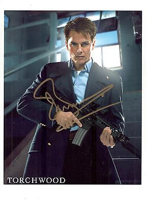 John Barrowman Authentic Signed Autograph Montreal Comiccon 2015 Torchwood Arrow