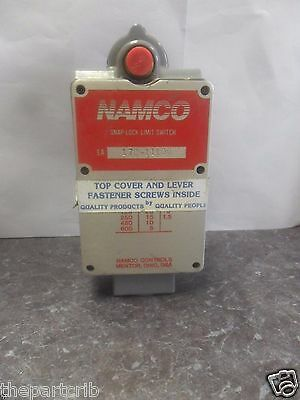 New Namco EA170-11100 Snap-Lock Roller Arm Limit Switch 170-11100