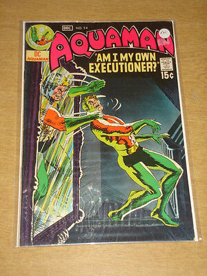 Aquaman #54 Fn (6.0) Dc Comics December 1970 **