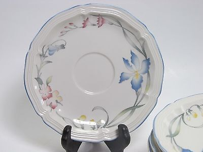 """Villeroy and Boch """"Riviera"""" Saucers only"""