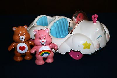 Care Bears Vintage Cloud Mobile With Two bears