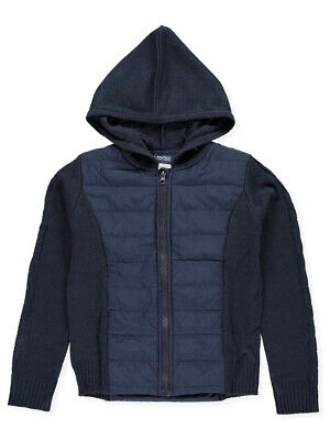 Nautica Big Girls' Quilted Hooded Jacket (Sizes 7 - 16)