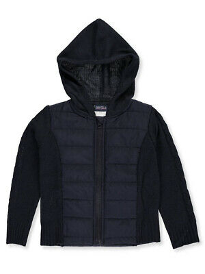 Nautica Little Girls' Quilted Hooded Jacket (Sizes 4 - 6X)