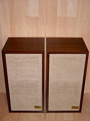 Acoustic Research AR-4ax Vintage Speakers * Teak Cabinet * Excellent condition