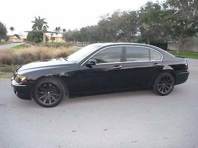2006 BMW 7-Series 750Li 4dr Sedan 2006 BMW 7 Series 750Li 4dr Sedan 4.8L V8