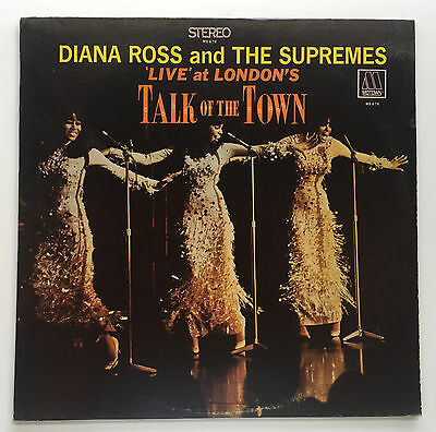 Diana Ross And The Supremes Talk Of The Town MOTOWN 1968 MINT