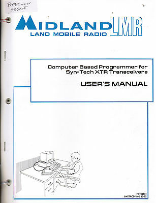 MIDLAND Manual Programmer assorted Users 70-165/265 70-1530A/B more