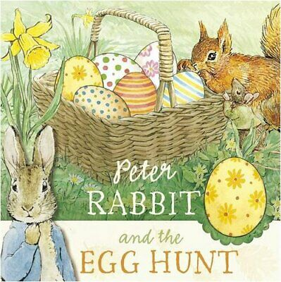 Peter Rabbit and the Egg Hunt by Potter, Beatrix Board book Book The Cheap Fast