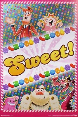 Candy Crush Sweet! Poster 57x86.5cm