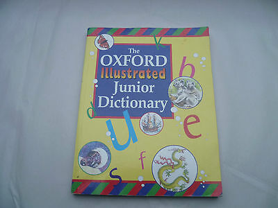 The Oxford Illustrated Junior Dictionary Pb For 7+