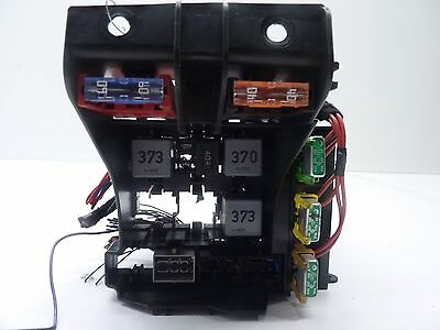 2004-2008 audi a8 d3 oem 4e1937503a battery fuse box w/ pigtail harness