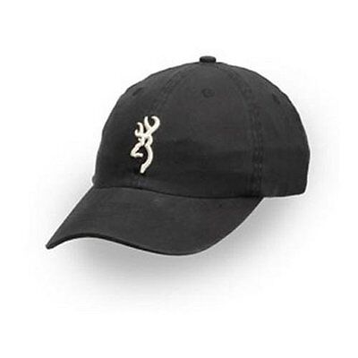 best website 67f24 ce204 ... order browning mens puffed white buckmark logo cap black one size 0e5ba  5da05