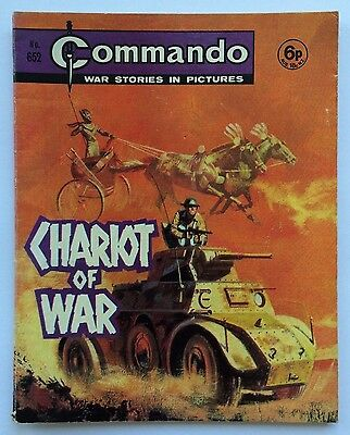 COMMANDO COMIC #652 - Chariot of War