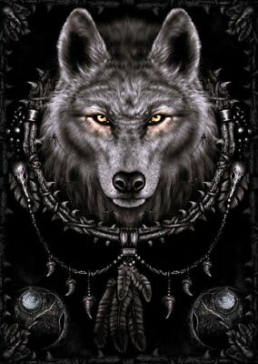 New Wolf Dreams Spiral Poster