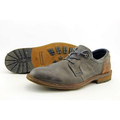 Bull Boxer Everson Men US 8 Gray Oxford Pre Owned  1086