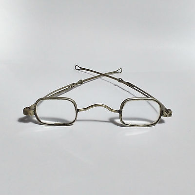 Antique Silver Eye Glass Frames with Adjustable Arms Antique Eye Glasses