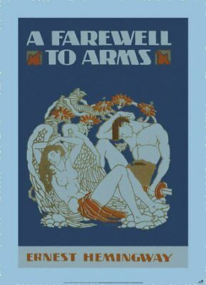 New A Farewell to Arms by Ernest Hemingway Poster