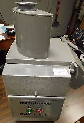Robot Coupe R4X Commercial Food Processor In good used working condition