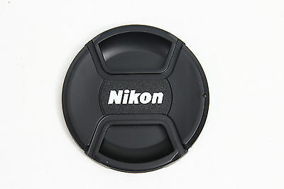 New 77mm Front Center Snap on Lens Cap for Nikon Camera Lens USA FREE Shipping