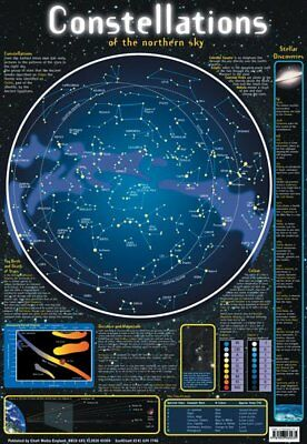 New Constellations of the Northern Sky Stellar Map Mini Poster