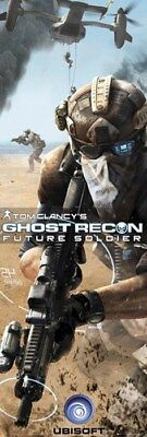 New Tom Clancy's Future Soldier Ghost Recon Door Poster