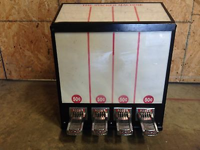 4 column sticker bulk vending machine for candy and toy route business Pokemon $