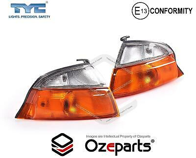 Pair LH+RH Corner Light Park Indicator Lamp For Toyota Hiace SBV Van RCH 95~03