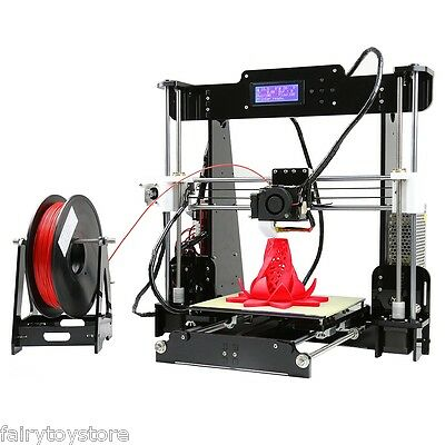 Anet A8 3D LCD Printer PLA ABS Wood PP Prusa i3 DIY High Accuracy Self Assembly