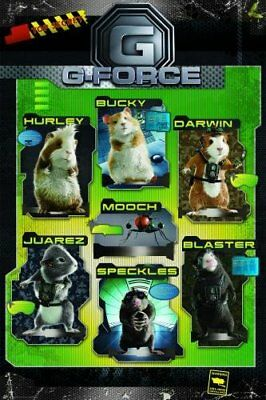 New Top Secret! G-Force Poster