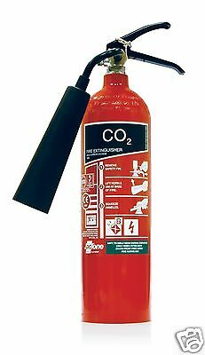 Jactone 2KG CO2 Carbon Dioxide Fire Extinguisher 55B Rating Marine Safety A004