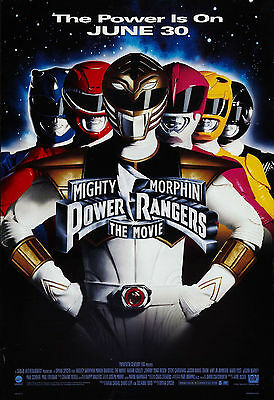 Mighty Morphin Power Rangers: The Movie - The Power is On Movie Poster 27x40inch