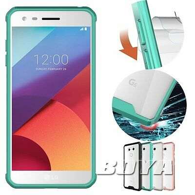 360 full body protective back case For LG Phones acrylic shockproof cover skin