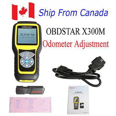 OBDSTAR X300M for Odometer Adjustment OBDII Mileage Correction Tool From Canada