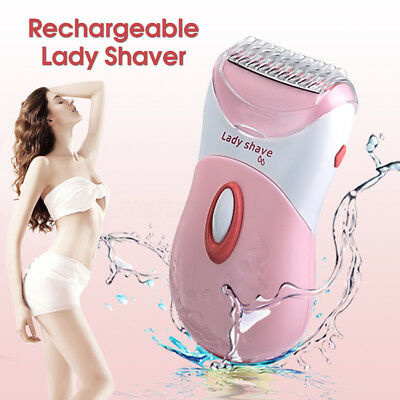 Electric Lady Women Shaver Washable Wet Dry Trimmer Body Hair Removal Razor