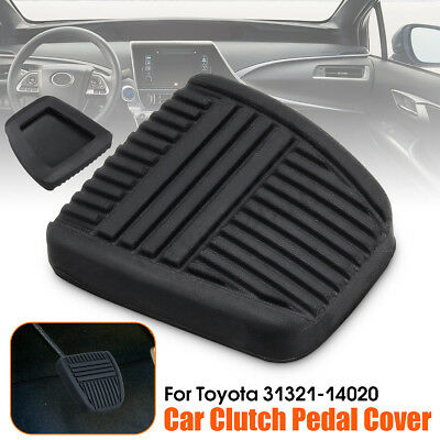 Black Brake Clutch Pedal Pad Rubber Cover Trans For Toyota 4Runner 31321-14020