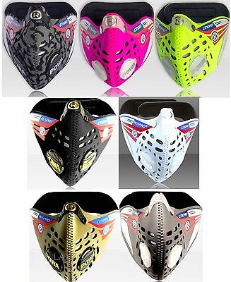 Respro Cinqro Anti-Pollution Sports Face Masks Bicycle Road Cycling Commuting