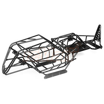 Xtra Speed Metal Cage Chassis Black For Axial Wraith RC Cars Truck #XS-AW230062