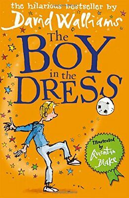 The Boy in the Dress by Walliams, David Hardback Book The Cheap Fast Free Post