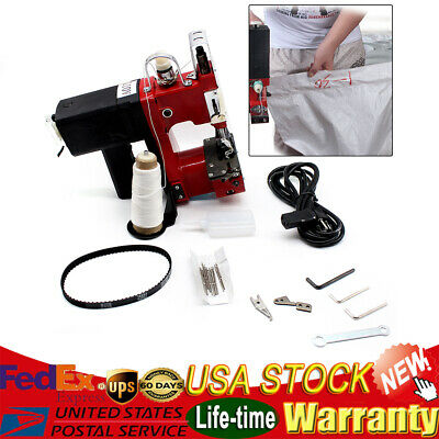 110V Industrial Portable Electric Bag Stitching Closer Seal Sewing Machine NEW!