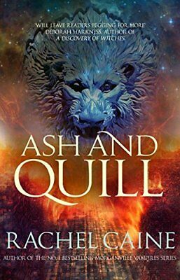 Ash and Quill (Novels of the Great Library) by Rachel Caine New Paperback Book