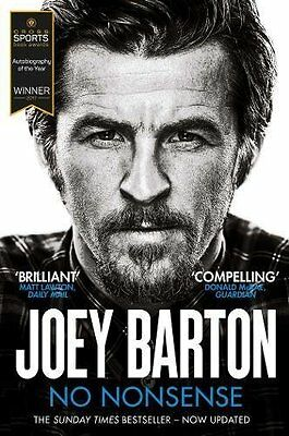 No Nonsense: The Autobiography by Joey Barton New Paperback Book