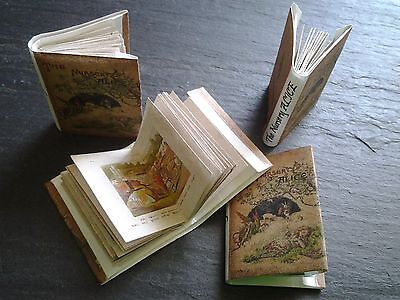 dolls house miniature real books THE NURSERY ALICE quality printing, up to 30 pa