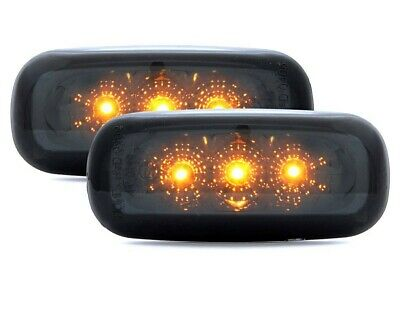 Audi  A2 A3 A4 A6 A8 TT LED Side Indicator Repeater Lights Clear Black Smoke Set